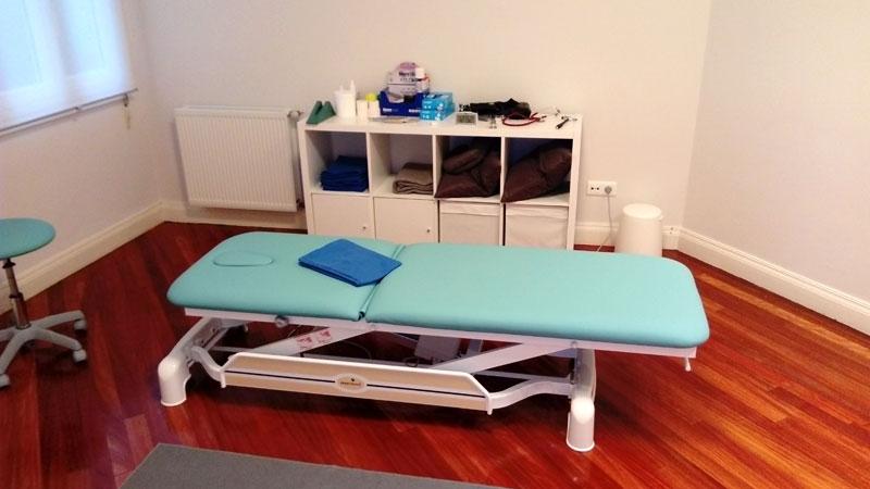 Consulta de la Clínica de Osteopatía y Fisiopatía Igon