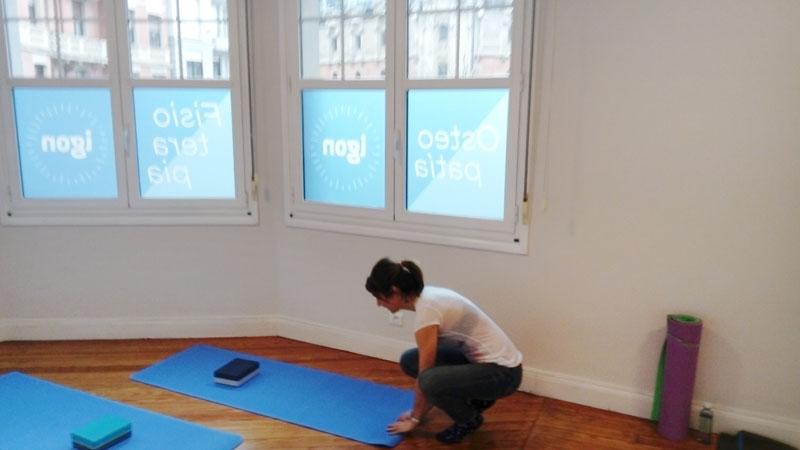 Clínica Igon Pilates y Yoga en Bilbao