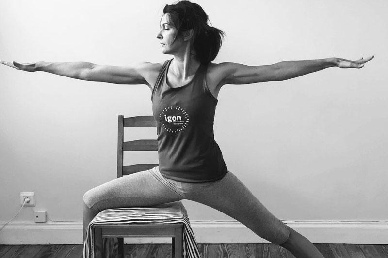 Vuelta a las clases de  Yoga y Pilates en la Clínica IGON