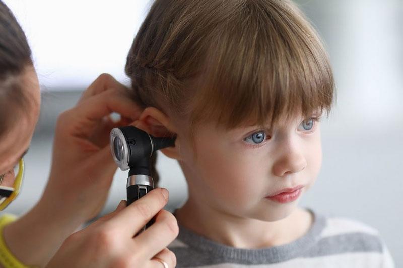 Enfermedades infantiles comunes de otorrinolaringología