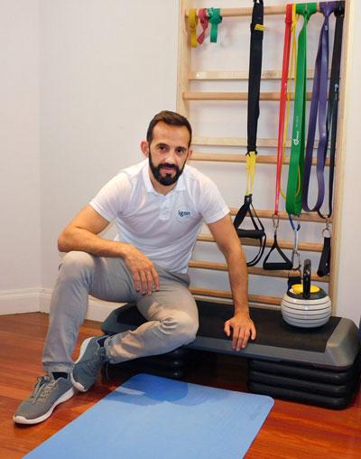 Fisioterapeuta de cadera en Bilbao