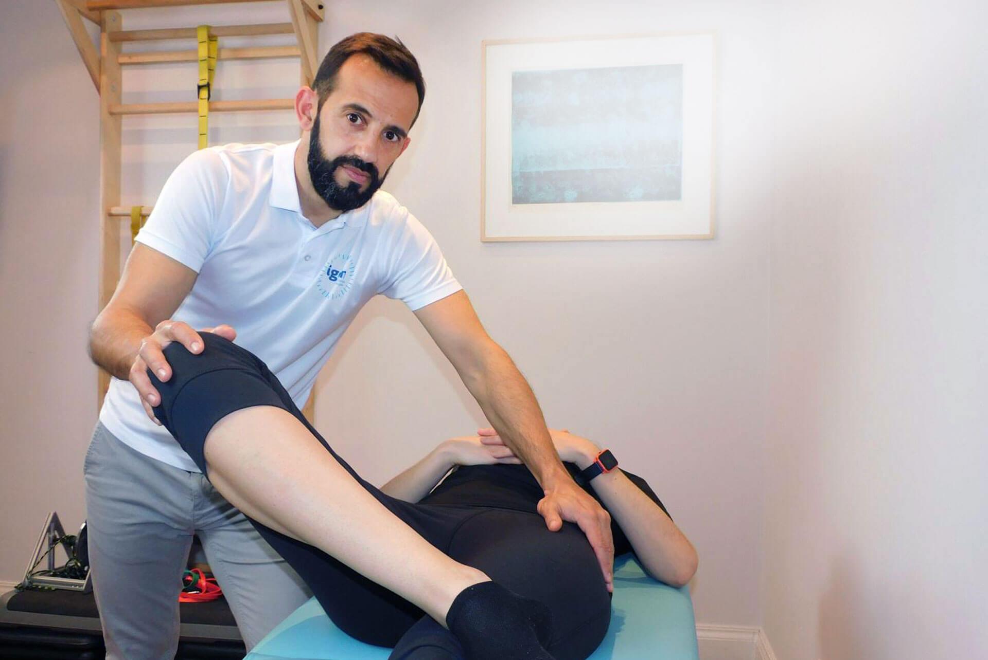 Fisioterapeuta especialista en cadera